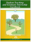 photo of student handbook cover